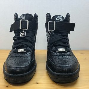 the best attitude 1bf7d 17c12 Nike Shoes - Nike Air Lunar Force 1 Women s Wedges Black Sz 7.5
